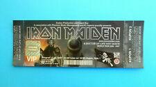 IRON MAIDEN A Matter of Life and Death MINT COND. concert ticket 2007 (Belgrade)