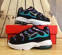 Nike Little Air Max Plus Black Purple Shoe BQ7228-001 Toddler's Size 6C/7C/8C