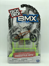 Tech Deck BMX Freestyle Hits Finger Bike  Wethepeople Brown/Black