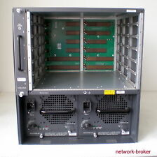 Cisco Switch  WS-C6506-E + Fan Tray + Rack Mount Kit 2 x WS-CAC-3000W Netzteile