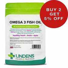 Omega 3 Fish Oil (30% DHA/EPA) Capsules Lindens [4982]