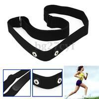 Soft Chest Belt Strap for Polar Garmin ANT Wahoo Sensor Sport Heart Rate Monitor