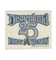 Disneyland Vintage Unused Sticker for 25th Anniversary in 1980