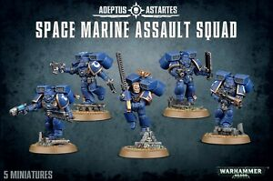 Space Marine Assault Squad - Space Marines (Warhammer 40k) BNIB