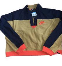 BNWT NIKE Multi Coloured Half Zip Fleece Material, Size M, RRP £60 !