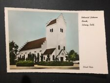 Antique Postcard c1950s Bethaniel Lutheran Church Solvang, Ca (19802)