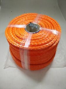 16mm*100m ATV synthetic winch rope,uhmwpe rope,winch cable,winch line for auto