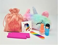 UNICORN Pamper Gift Set - Sleepover Beauty make up kit for Girls Children's Kids