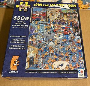 Jan Van Haasteren 550 Piece Puzzle Called The Fire Station (See Description)