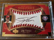 2004 UD Sweet Spot Jim Thome Auto Autograph