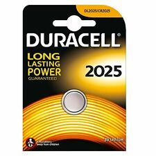 2x blisters de pila Botón Duracell Cr2025 3V Batería litio Cell Battery Dl2025