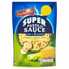 Batchelors Pasta 'N' Sauce Cheese Leek & Ham - 110g - Pack of 4 (110g x 4)