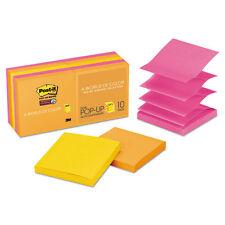 Post-it Pop-up 3 x 3 Note Refill Rio de Janeiro 90-Sheet 10/Pack R33010SSAU