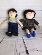 Vintage Anatomically Correct Sexual Education Therapy Cloth Dolls Male Female
