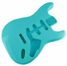 Seafoam Green Stratocaster Electric Guitar Body - 2 Piece American Alder