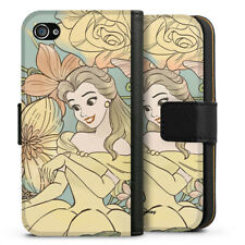 Apple iPhone 4 Tasche Hülle Flip Case - Belle royal floral No 2