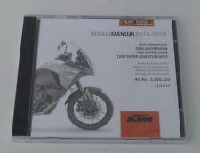 KTM 1190 Adventure Reparaturanleitung Repair Manuel CD Mod.13-18