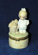 Precious Moments Figurine, Figure God Loveth A Cheerful Giver