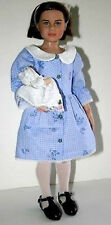 """Dress Me Up Doll Clothes Sewing Pattern for 13"""" Lucy Pevensie Narnia Tonner"""