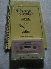 Writing Strands Level 1 by Dave Marks National Writing Institute 2000 book/tape