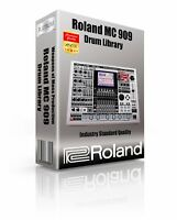 Roland MC-909 Kits/Drum Machine WAV Samples & Sounds Library: digital delivery