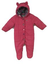 Baby Girls JOULES. Snowsuit Vgc Age 3-6 Months  Vgd Clean Cond