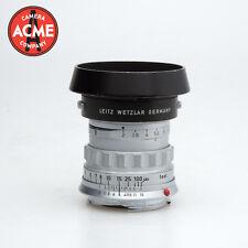 Leica M Mount Summicron 5cm 50mm f2 Type 1 Lens