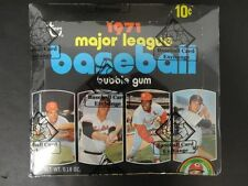 you pick any - $1.25 each card- from 1971 +/or 1972 Topps Baseball set