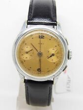 "chronographe ""ERY"" rhodié mouvement landeron ,vintage chrono"