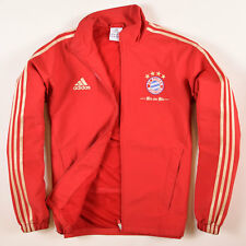 Adidas Herren Jacke Jacket Gr.7 (L) Bayern München Trainingsjacke Rot, 58138