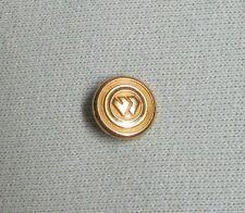 Wimbledon Gold tone button ** for Blazer Sport Coat ** For Cuff/Sleeve button **