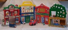 Little People Learn About Town School Dentist, Doctor by Fisher Price plus Littl