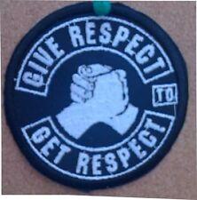 Patches Respekt,Biker, Aufnäher
