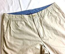 J.Crew Essex Pant Regular Fit Chino Mens Size 34 x 29 Flat Front Beige Khaki