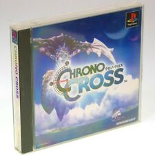 CHRONO CROSS PS1 Sony Japan Import SQUARE PlayStation PSX NTSC-J RPG Very RARE !