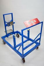 PRW Steel Fully Collapsible Engine Test Stand Base Unit w/ Short Block Adapter