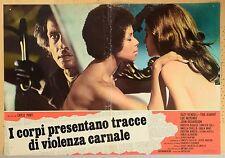 SERGIO MARTINO SUZY KENDALL TORSO ORIGINAL ITALIAN MOVIE POSTER PHOTOBUSTA 3