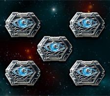 Star Wars: X-Wing Miniature Games Metal Rebel Focus Tokens -- Broken Egg Games