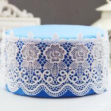 3D Blau Matte Spitze Lace Mold Fondant Torten Dekoration Cake Silicon Kitchen