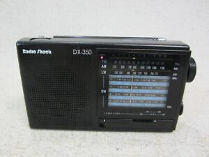 Radio Shack DX-350 12-Band Receiver AM FM LW SW 1-9