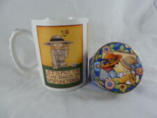 Mary Engelbreit Let's Put The Function Back in Disfuctional Mug Cup Oz + new box