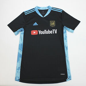 LAFC adidas  Short Sleeve Shirt Men's Black/Blue Used