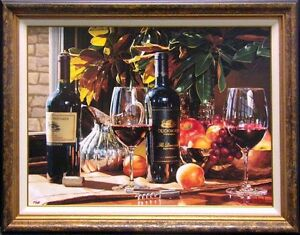 """Eric Christensen """"Up For Discussion"""" Hand Signed Giclee With Hand Embellishment"""