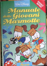 MANUALE DELLE GIOVANI MARMOTTE speciale natura 1^'06 AIRONE Disney