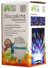 DJ LED Party Glühbirne E27 RGB Licht-Effekt Kristall Beleuchtung Disco-Kugel 61