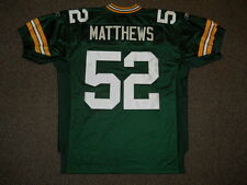 Clay Matthews Green Bay Packers Green Authentic Jersey by Reebok sz 50 New Mens