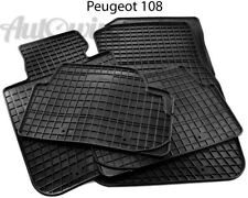 Peugeot RCZ Heavy Duty De Goma Coche Arrancar Mat piso