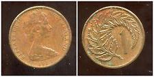NOUVELLE ZELANDE 1 cent 1983