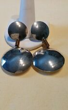 TC-103 Mexico Sterling Silver Large  Post/ Dangle Earrings