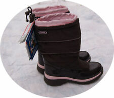 Youth Girls Cougar Winter Boots size 1 Brown New -24F -11C